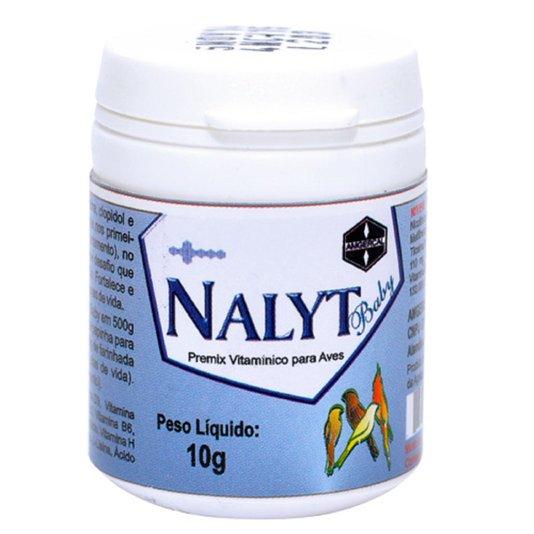 Nalyt Baby Premix Vitamínico Aves Pássaros Pote 10 gramas