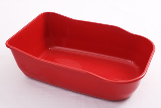 Bandeja Higiênica/Sanitário Gatos Luxo Duracats Vermelha