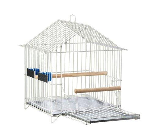 Gaiola Pássaro Papagaio Epoxi Capela Duplex 50A Londina