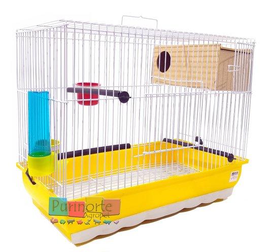 Gaiola Pássaros Criadeira Catuta Periquito Canário 44x23x35 cm