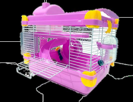 Gaiola Transpote Playground Hamster Anão Chinês Acrílico