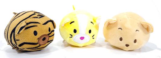 Kit 3 Brinquedos Cães Pelúcia Apito Animais Fofinhos Bolinhas