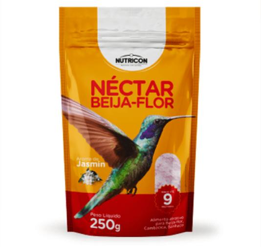 Néctar Beija Flor Alimento Atrativo Aves Beija Flores sachê 250g