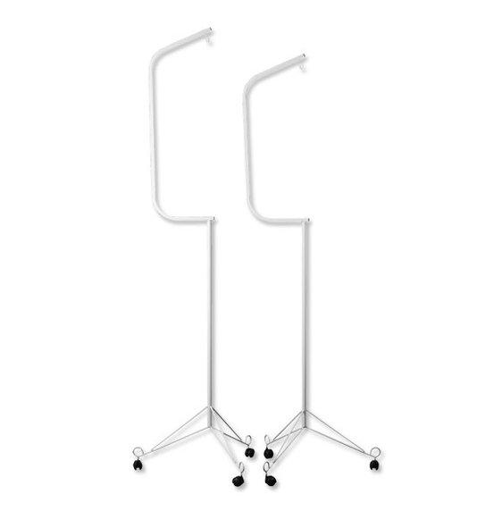 Pedestal Grande Zincado Com Rodas para Gaiolas 080A