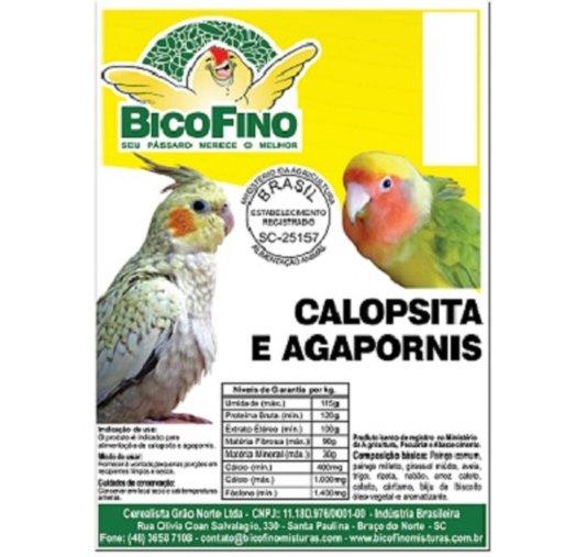 Ração Sementes Mistura Trato Pássaros Calopsita 5 KG