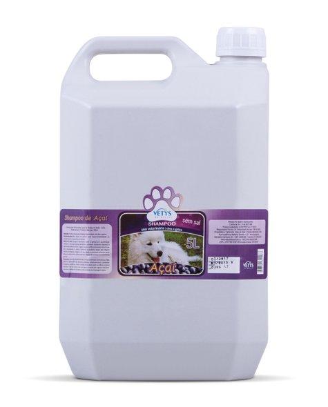 Shampoo Vetys Açai Premium Cães e Gatos - 5 litros