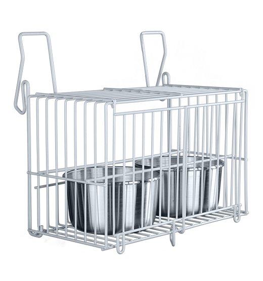 Tratador Externo Zincado Gaiolas Viveiros 2 Canecas Aluminio