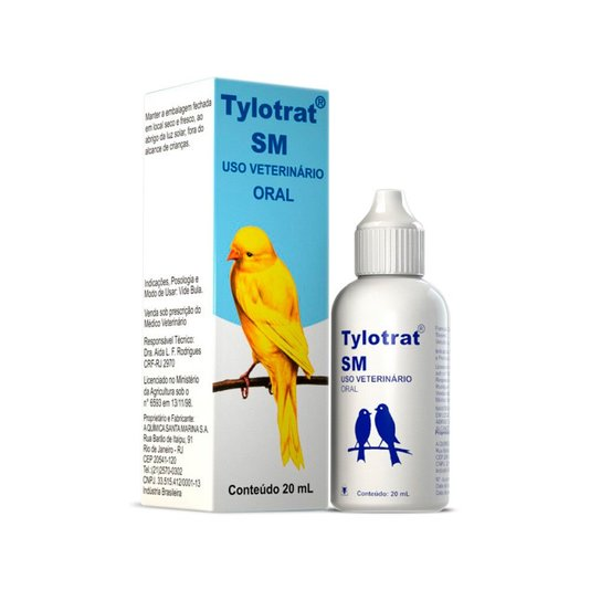 Tylotrat SM Oral - Tilosina 2,5 g - 20 ml