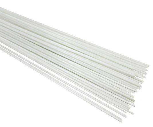 Varetas Fibra Vidro Branca Gaiolas Pipas 2,2 mm kit 2 kg