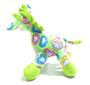 Brinquedo Cães Mordedor Pelúcia Girafinha com Apito
