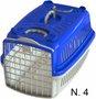 Caixa Transporte Cães e Gatos Azul Pata Forte