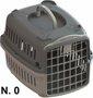 Caixa Transporte Cães e Gatos Cinza Pata Forte