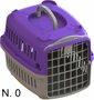 Caixa Transporte Cães e Gatos Lilás Pata Forte