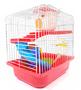 Gaiola Transporte Casinha Playground Hamster Chinês SH 84