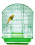 Gaiola Metal Pássaros Periquito Canário Arredondada Epóxi